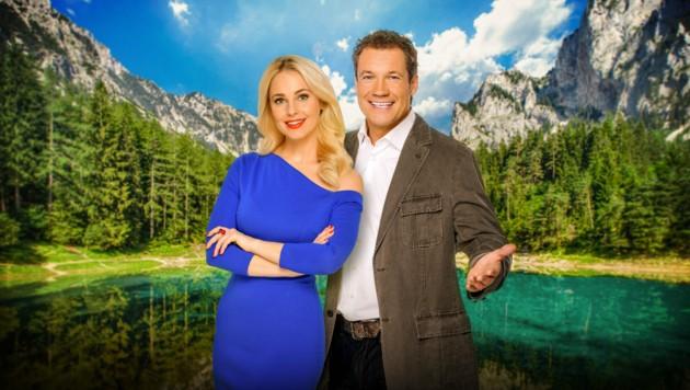 """""""Neuer TV-Doppelpack: Silvia Schneider und Armin Assinger (Bild: ORF)"""
