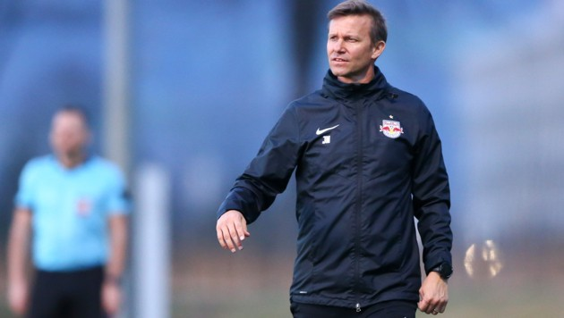 Salzburg-Coach Jesse Marsch. (Bild: GEPA )