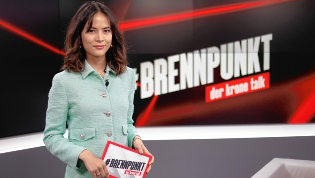 Moderatorin Katia Wagner (Bild: Tomschi Peter)