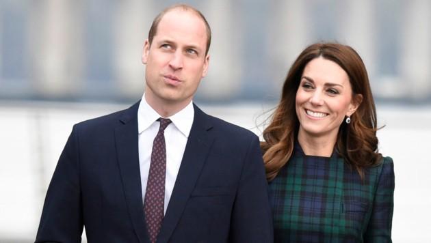 Prinz William und Herzogin Kate (Bild: Ian Rutherford / PA / picturedesk.com)