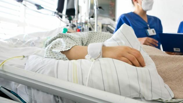 In den Spitälern wurden am Montag insgesamt 33 Corona-Patienten stationär versorgt. (Bild: Mathis FotografieSchweizerstrasse 22A-6845 Hohenemsmathis@fotovideo.atUID NR.: ATU 699 20179IBAN: AT93374610000084400BIC)