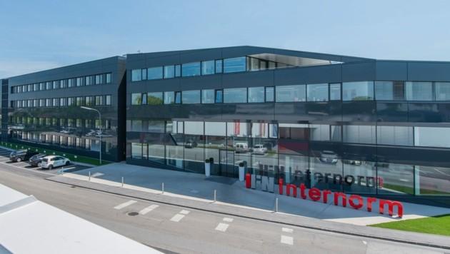 Die Internorm-Zentrale in Traun. (Bild: Internorm)