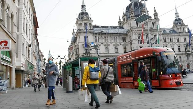 Die Altstadtkommission muss bei Bauverfahren in der Grazer Innenstadt angehört werden (Bild: Christian Jauschowetz)