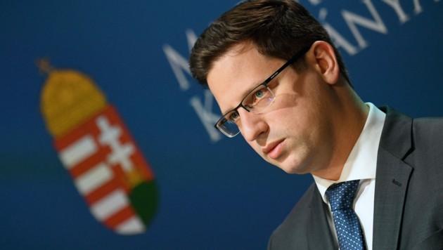 Gergely Gulyás (Bild: AFP)