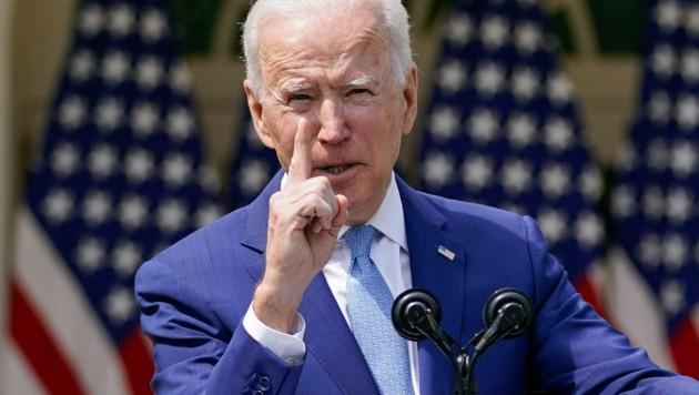 Joe Biden (Bild: AP Photo/Andrew Harnik)