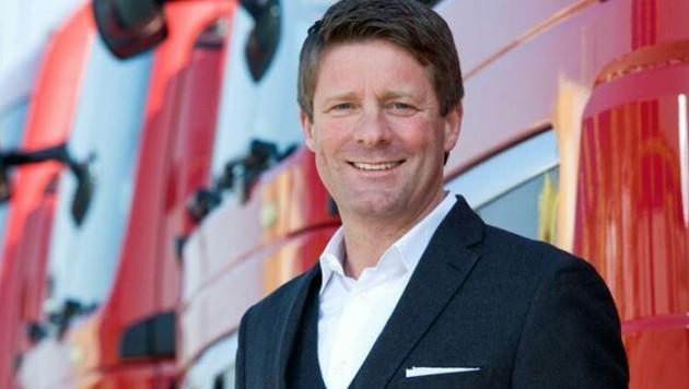 Christian Fürstaller ist CEO bei Quehenberger Logistics (Bild: Quehenberger/Haader)