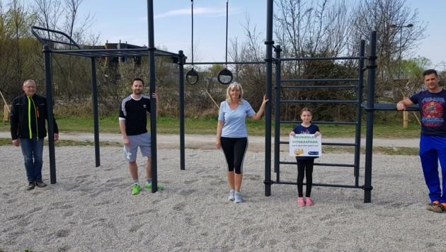 Der Fitnessparcours wird von den Neusiedlern gut angenommen. (Bild: Neusiedl am See)