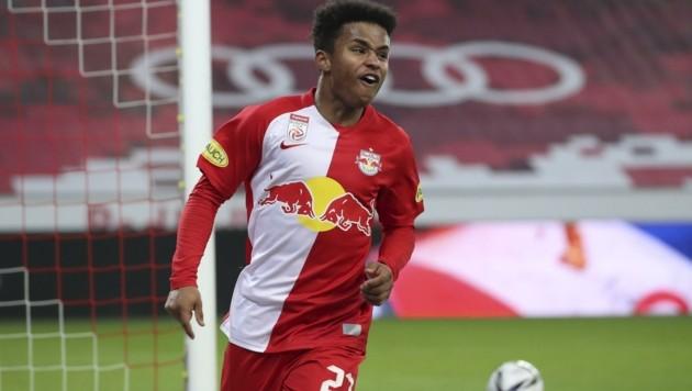 Karim Adeyemi und Kollegen ließen zuletzt selten etwas anbrennen gegen Rapid. (Bild: Tröster Andreas)