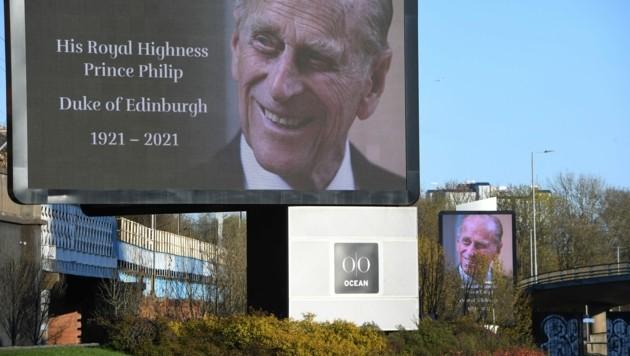 """""""Fourth Bridge"""" lautet der Code-Begriff für den Ablauf bis zur Beerdigung von Prinz Philip. (Bild: AFP)"""