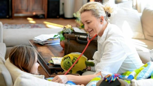 Wiens mobiles Kinderhospiz und Kinderpalliativteam MOMO kümmert sich um schwerstkranke Kinder in ihrer vertrauten Umgebung. (Bild: Martina Konrad-Murphy)
