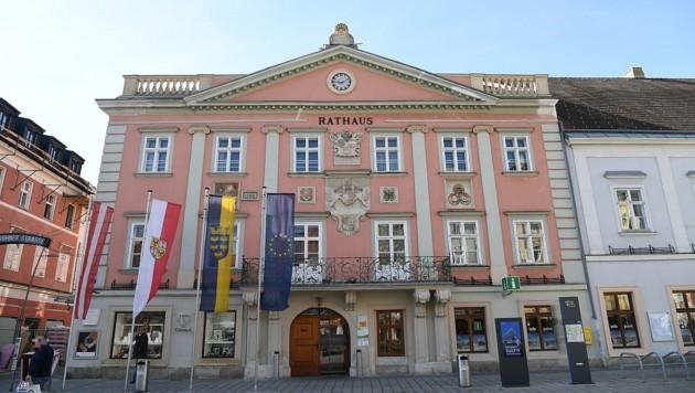 Im Rathaus nimmt man die Kritik gelassen. (Bild: P. Huber)