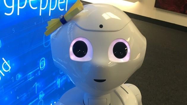 Roboter - etwa als Info-Anlaufstelle - breiten sich aus, bald auch in der Pflege. (Bild: Kneidinger Barbara)
