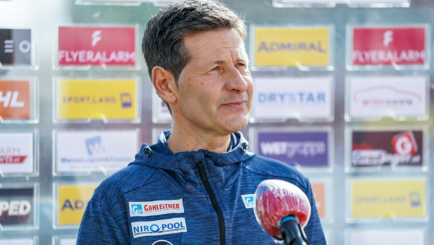Ried-Trainer Andreas Heraf (Bild: GEPA pictures)