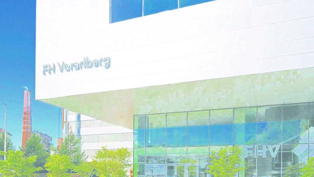 Die Fachhochschule wird erweitert und verdichtet (Bild: Mathis Fotografie)