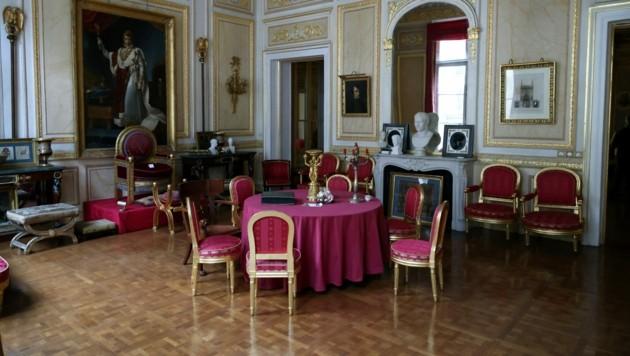 """Der Pariser Veranstaltungsorts """"Palais Vivienne"""" wurde zum """"Untergrund-Restaurant"""" (Bild: AFP)"""