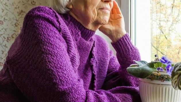 Gerade für ältere Menschen - aber nicht nur - ist Einsamkeit sehr quälend (Symbolfoto). (Bild: ©Solarisys - stock.adobe.com)