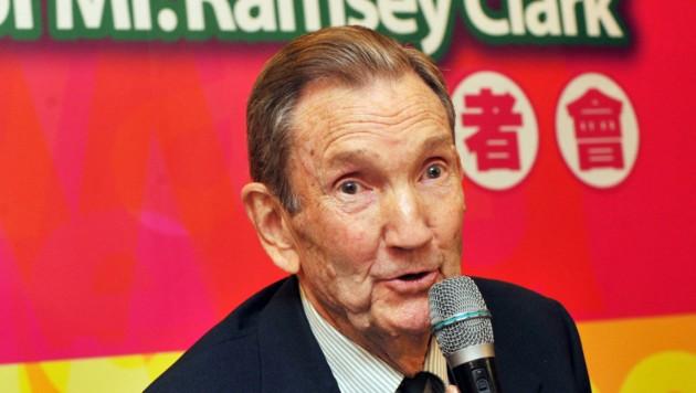 Ramsey Clark pflegte Beziehungen zu Taiwans China-skeptischer Opposition. (Bild: AFP)