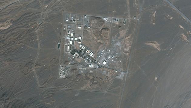 Satellitenaufnahme der Atomanlage Natans (Bild: 2021 Maxar Technologies / AFP)