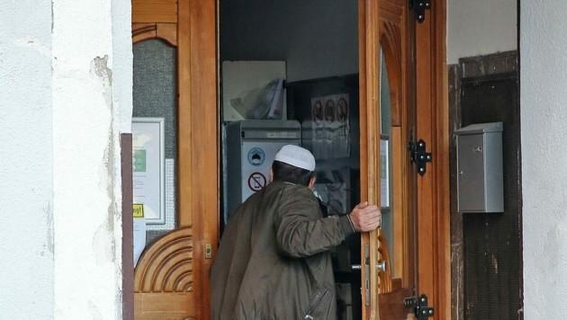 Wieder offen: die Wiener Moschee des Attentäters (Bild: Klemens Groh)