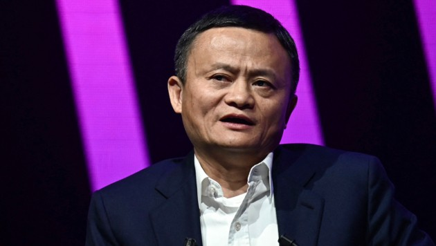 """Jack Ma, der Gründer des Internetkonzerns Alibaba, gilt als """"chinesischer Jeff Bezos"""". Seit er in einer Rede Kritik an der Regierung geübt hat, geht Peking hart gegen sein Firmenimperium vor. (Bild: AFP)"""