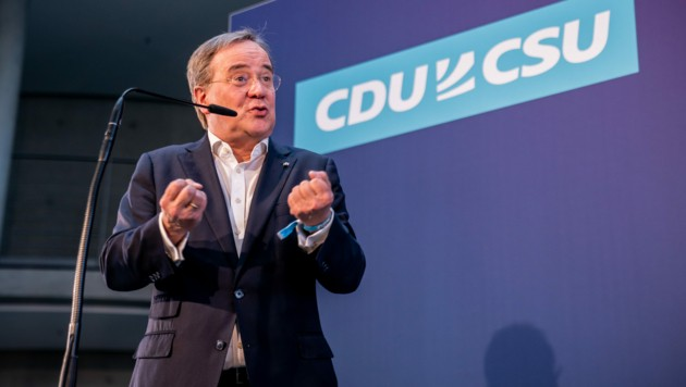 Die CDU-Spitze stärkte Laschet in Sachen Kanzlerkandidatur den Rücken. (Bild: APA/dpa/Michael Kappeler)