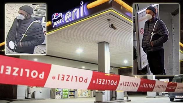 Drei Mal binnen zwei Wochen wurde die Eni-Tankstelle in der Gabelsbergerstraße überfallen. (Bild: Sandra Leis)