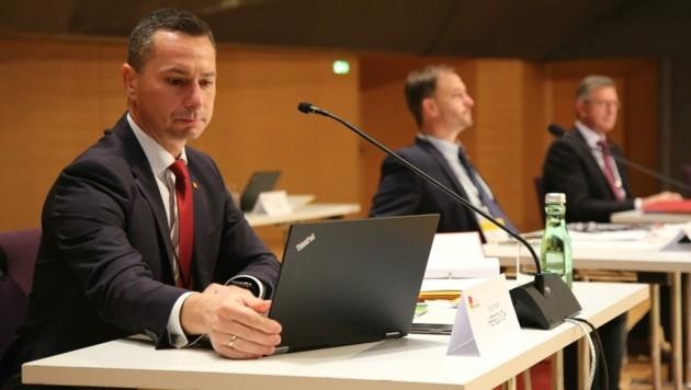 Robert Hergovich im U-Ausschuss (Bild: Grammer Karl)