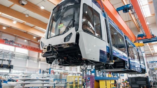 Die neuen Triebwagen versprechen sehr großen Komfort (Bild: GMR Photography)