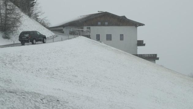 Schon am Montag schneite es bis in einige Täler. (Bild: Birbaumer Christof)