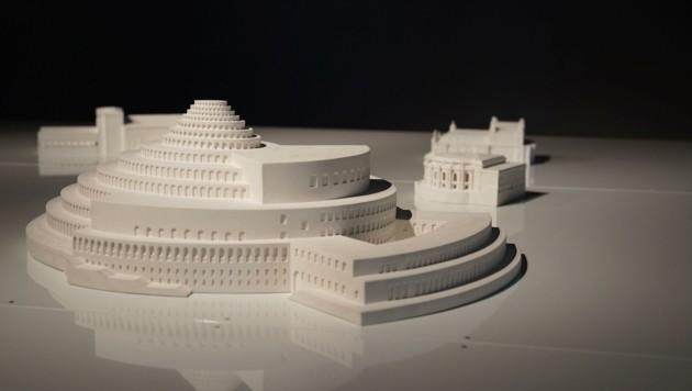 Online-Führung am 16. April: Festspielhaus-Modelle, die nie verwirklicht wurden. (Bild: Salzburg Museum)