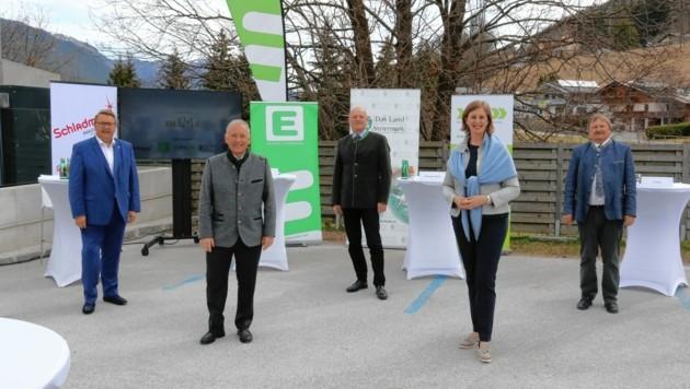 Land, Energie Steiermark und Kommunalpolitik sind Partner. (Bild: Christian Jauschowetz)