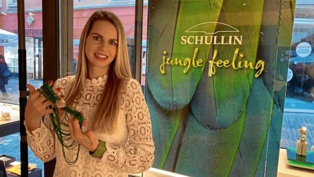 """Hans Schullins """"Monk-Armreif"""" und ein Collier räumten bei der Schmuckdesigner-Wahl in den USA gleich zwei Preise ab. (Bild: Christian Tragner)"""