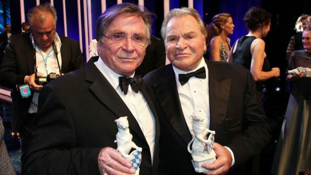 Elmar Wepper und Fritz Wepper (Bild: Gulotta,Francesco / Action Press / picturedesk.com)