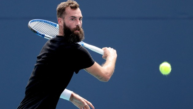 Benoit Paire (Bild: APA/Getty Images via AFP/GETTY IMAGES/MATTHEW STOCKMAN)