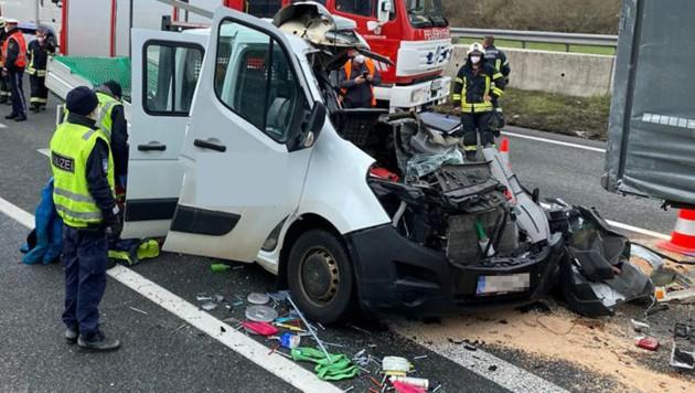 Im April starb ein 27-Jähriger nach einem Crash auf der A12 bei Wörgl. (Bild: zoom.tirol, krone.at)