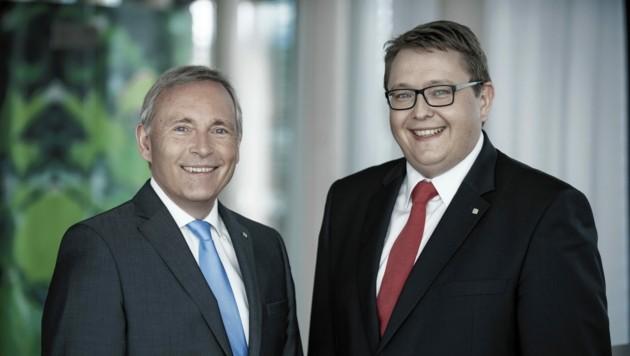 Christian Purrer und Martin Graf sind zufrieden mit 2020. (Bild: www.bigshot.at/Christian Jungwirth)