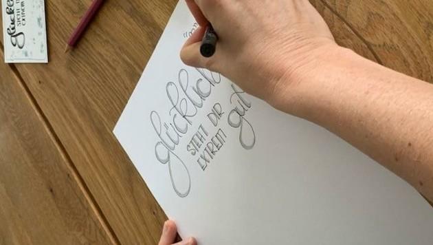 Jeder kann zeichnen: Wie, das erklärt Wieser in Webinaren. (Bild: Wassermann Kerstin)