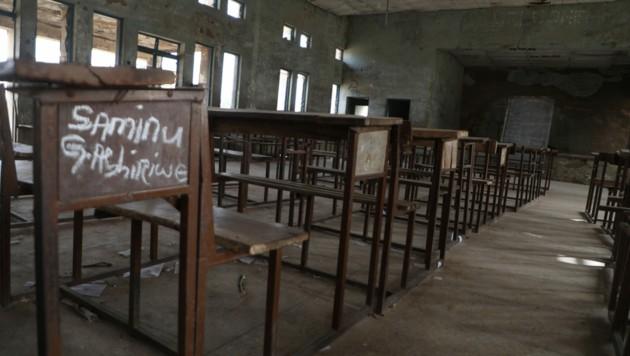 Ein Klassenzimmer im Niger, Symbolfoto (Bild: AFP )