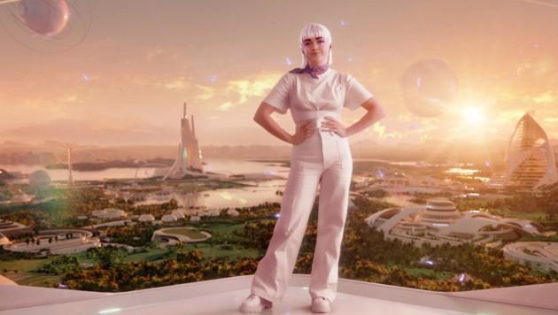 Maisie Williams' digitaler Zwilling (Bild: H&M)