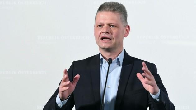 Andreas Hanger (ÖVP) kritisierte den Ibiza-U-Ausschuss am Mittwoch scharf. (Bild: APA/HELMUT FOHRINGER)