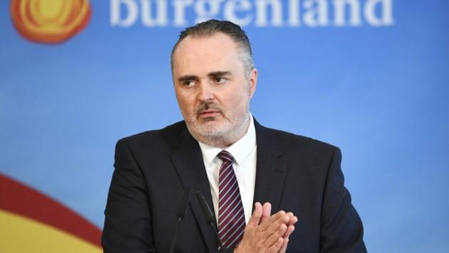 Der burgenländische Landeshauptmann Hans Peter Doskozil (SPÖ) (Bild: APA/Robert Jäger)