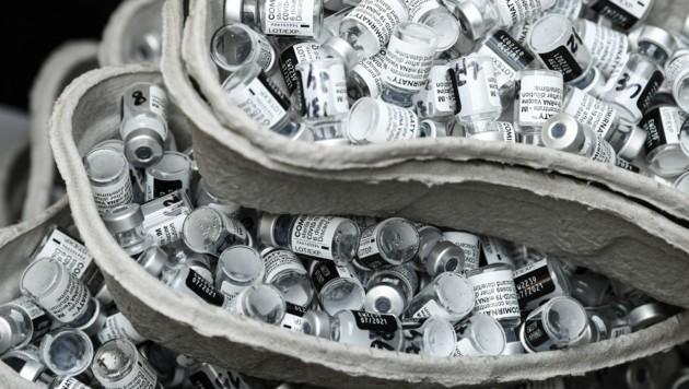 Der Corona-Impfstoff entwickelte sich für Pfizer zu einer wahren Cashcow. (Bild: AFP)