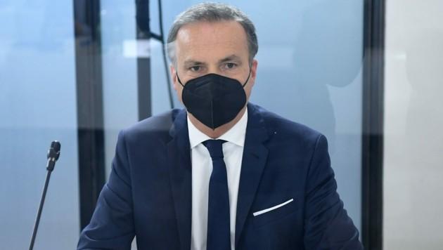Eduard Müller, Vorstand der Finanzmarktaufsicht (FMA) (Bild: APA/HELMUT FOHRINGER)