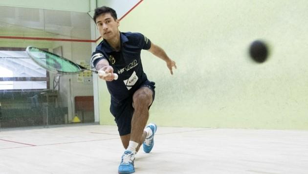Aqeel Rehman scheiterte im Halbfinale von Prag (Bild: Andreas Tröster)