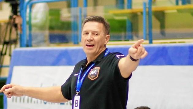 Romas Magelinskas wurde als Trainer der HSG Graz freigestellt. (Bild: Pressefoto Scharinger © DANIEL SCHARINGER)