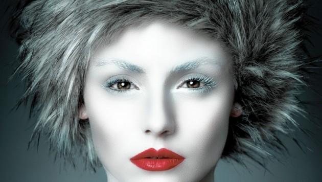 Das Model hat sich für Schnabls Foto selbst geschminkt. (Bild: GSP)