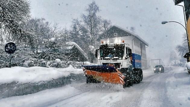Bis März fielen Mehrkosten bei der Schneeräumung an (Bild: Wallner Hannes)