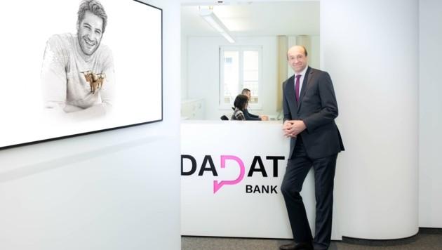 Chef Ernst Huber profitiert vom Digitalisierungsschub, den die Krise ausgelöst hat. (Bild: Dadat Bank)
