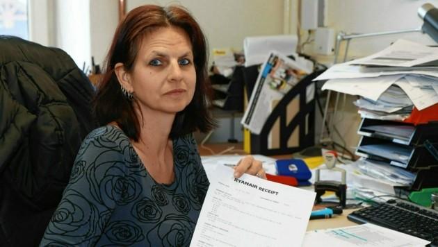 Lisa M. ist empört darüber, wie Ryanair mit Kunden umgeht (Bild: zwefo)
