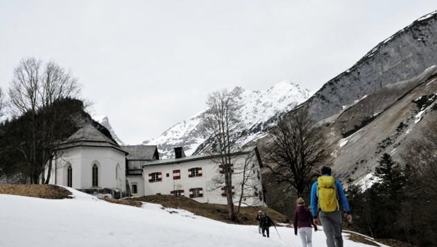 Die letzten Meter nach St. Magdalena (Bild: Peter Freiberger)